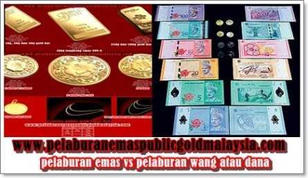 pelaburan emas vs pelaburan wang dana