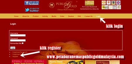 public-gold PERCUMA DAFTAR JADI PELANGGAN PUBLIC GOLD
