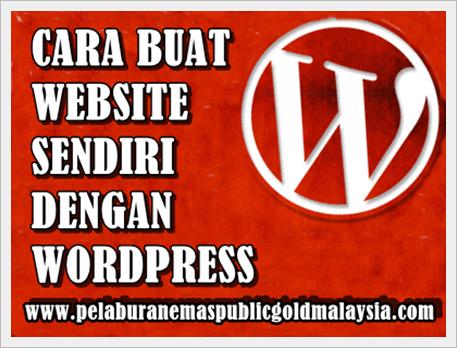 cara-buat-website CARA BUAT WEBSITE SENDIRI DENGAN WORDPRESS