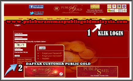 jadi pelanggan public gold