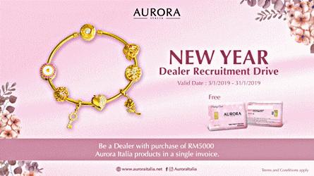 Promosi-Emas-Aurora-Italia PROMOSI HEBAT PUBLIC GOLD TAWARAN BISNES EMAS