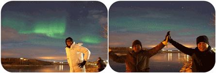 Aurora-Borealis-Iceland 10 KEAJAIBAN DUNIA ARTIK DARI PENGALAMAN DI ICELAND