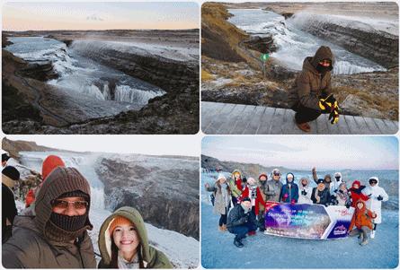 Gullfoss-waterfall-Iceland 10 KEAJAIBAN DUNIA ARTIK DARI PENGALAMAN DI ICELAND