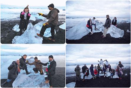 Iceberg-Diamond-Beach-Iceland 10 KEAJAIBAN DUNIA ARTIK DARI PENGALAMAN DI ICELAND