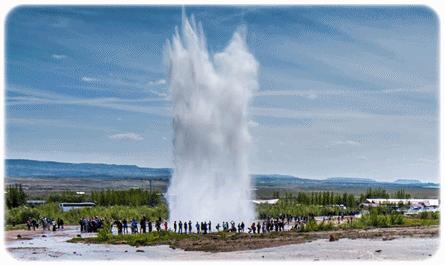Semburan-Air-Panas-Geysir 10 KEAJAIBAN DUNIA ARTIK DARI PENGALAMAN DI ICELAND