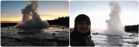 Strokkur-Geyser-Iceland 10 KEAJAIBAN DUNIA ARTIK DARI PENGALAMAN DI ICELAND