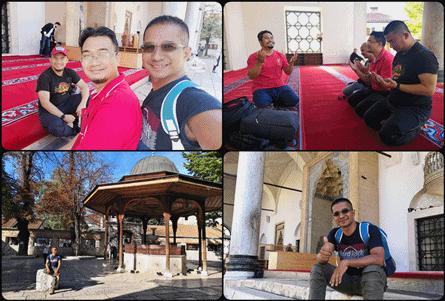 Masjid-Gazi-Husrev-beg-Sarajevo BOSNIA TEMPAT PELANCONGAN TERBAIK DI BALKAN